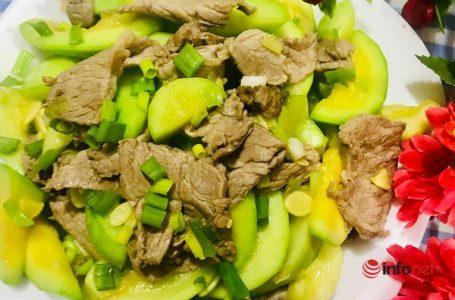 Các món bò ngon với rau củ tại nhà cho các mẹ